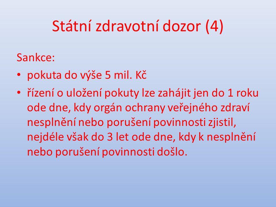 Orgány veterinární správy (1) Zákon č.166/1999 Sb.