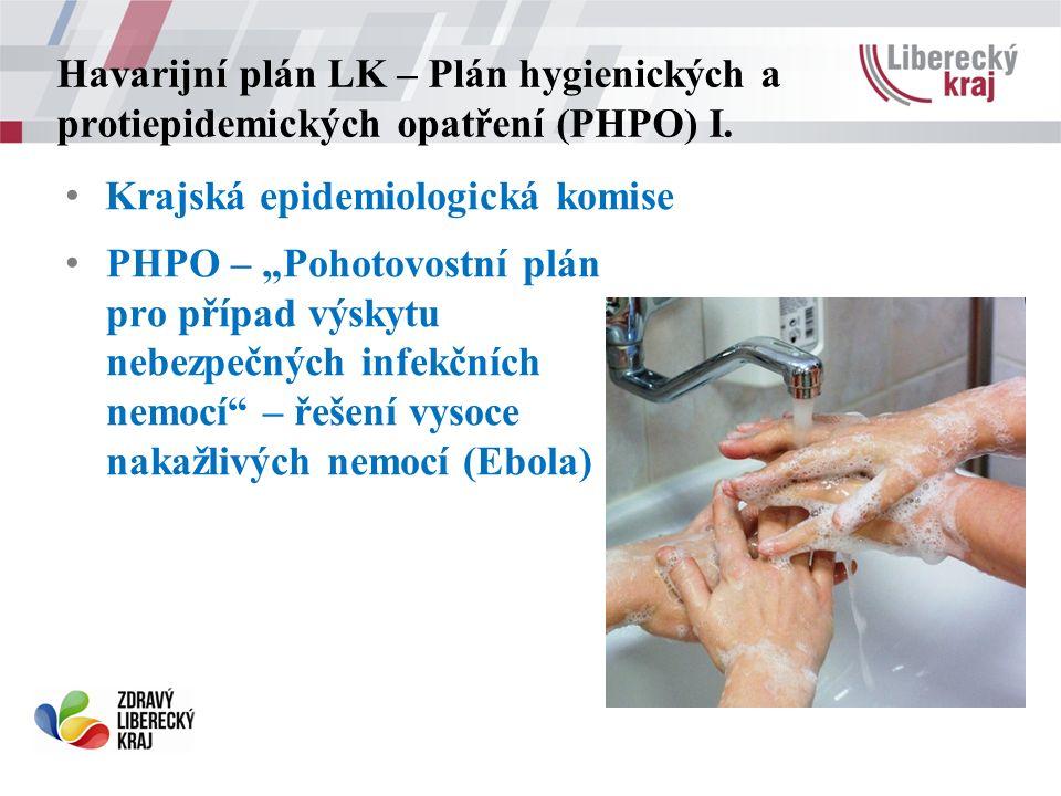 Havarijní plán LK – Plán hygienických a protiepidemických opatření (PHPO) I.