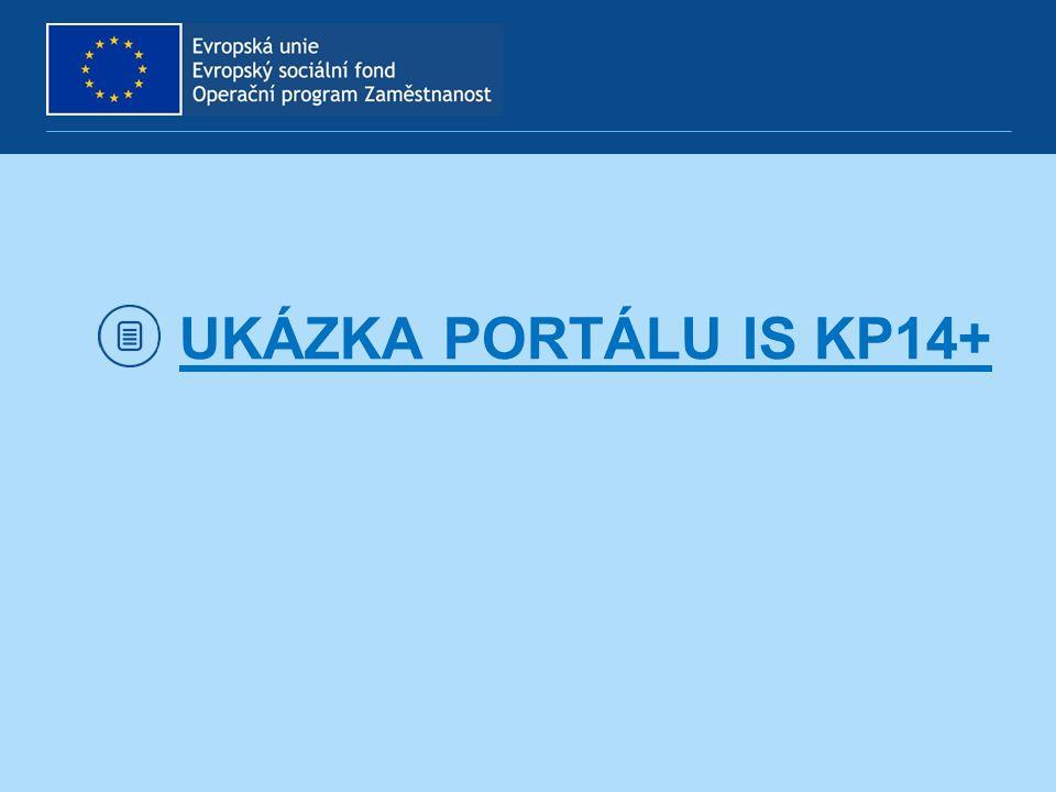 UKÁZKA PORTÁLU IS KP14+