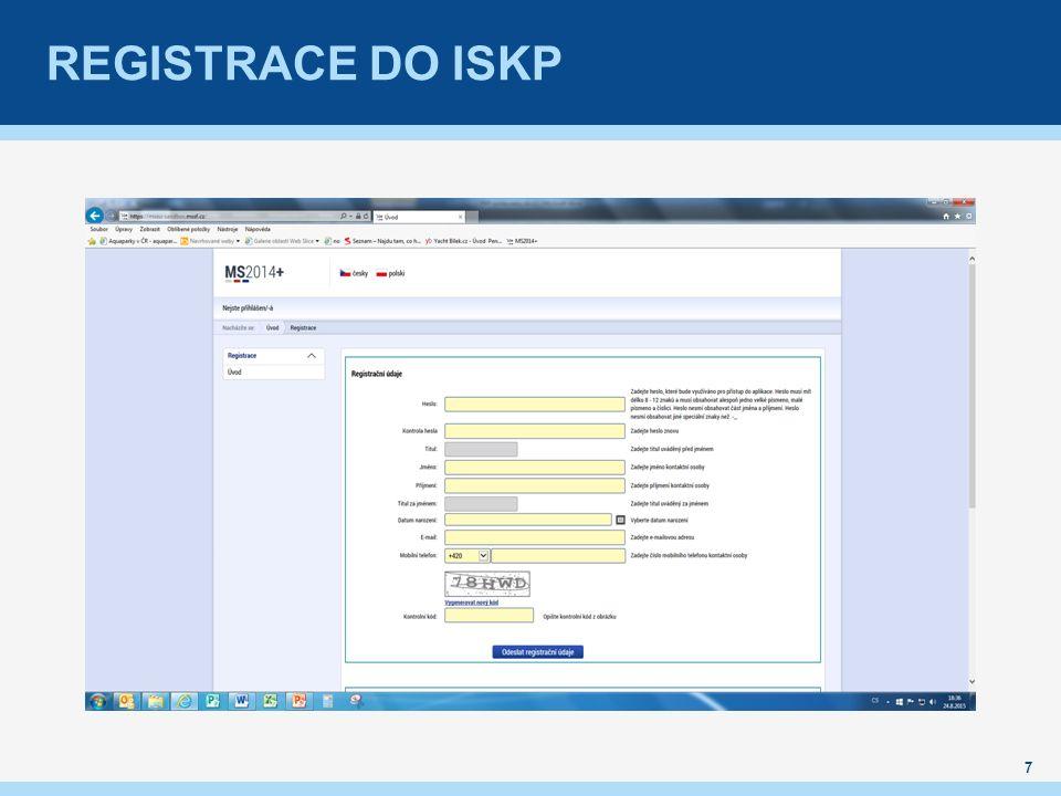 REGISTRACE DO ISKP 7