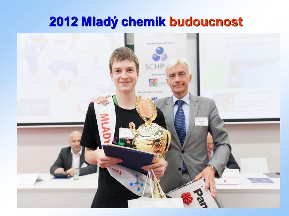 SCHP ČR Rubeška 393/7 190 00 Praha 9 Tel: +420 283 29 786 Email: mail@schp.cz mail@schp.cz www.schp.cz 2012 Mladý chemik budoucnost