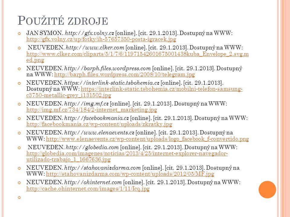P OUŽITÉ ZDROJE JAN SYMON. http://gfx.volny.cz [online].
