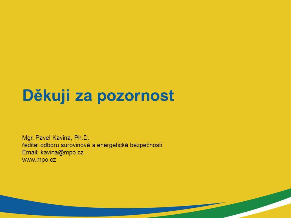 Děkuji za pozornost Mgr.Pavel Kavina, Ph.D.