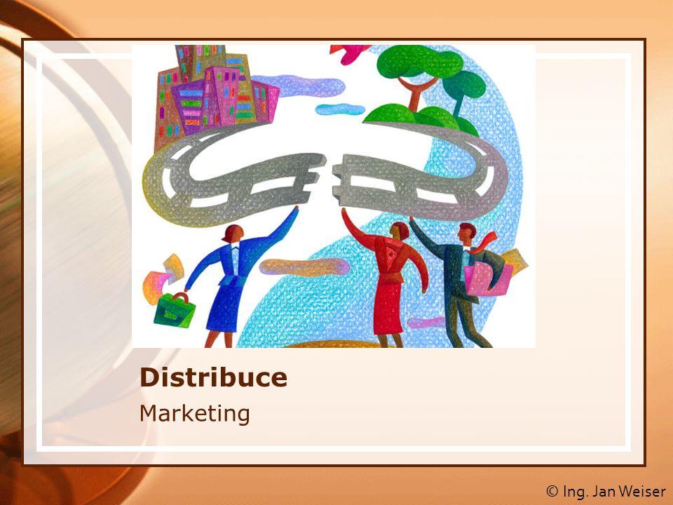 Obsah 1.Distribuce 2. Úrovně distribučních cest (kanálů) 3.