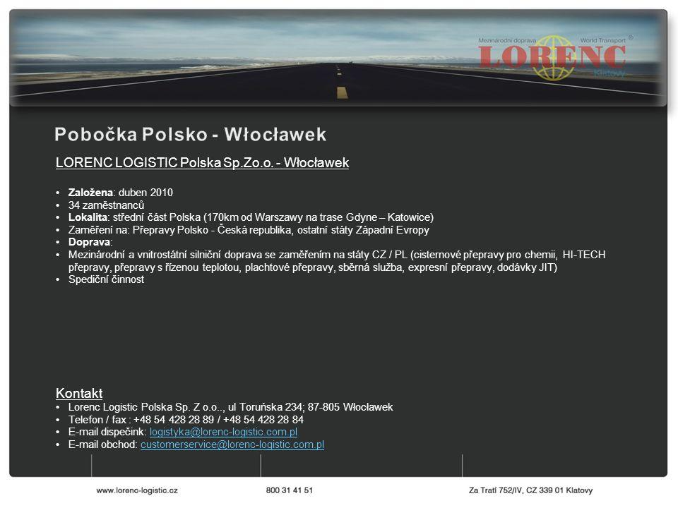 LORENC LOGISTIC Polska Sp.Zo.o.
