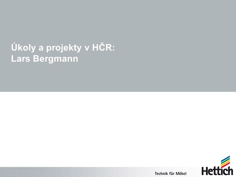 Úkoly a projekty v HČR: Lars Bergmann