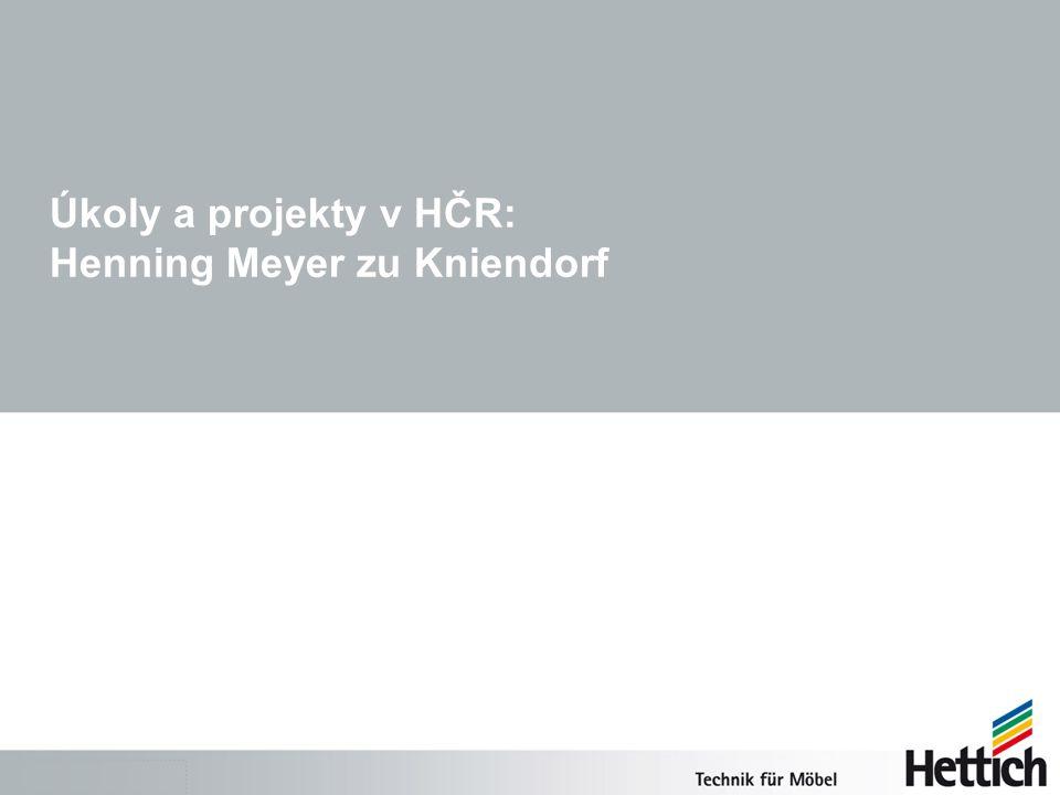 Úkoly a projekty v HČR: Henning Meyer zu Kniendorf