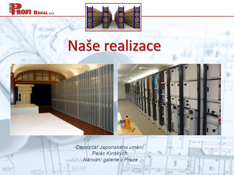 Naše realizace Depozitář Japonského umění, Palác Kinských, Národní galerie v Praze