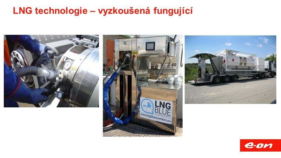 LNG technologie – vyzkoušená fungující