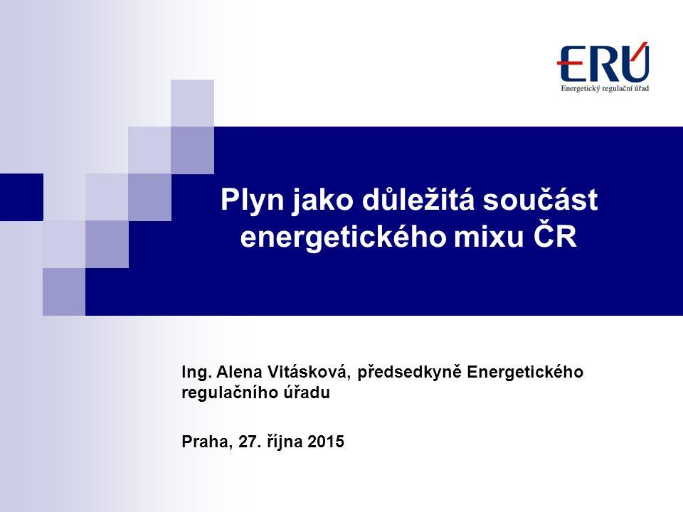 Plyn jako důležitá součást energetického mixu ČR Ing.