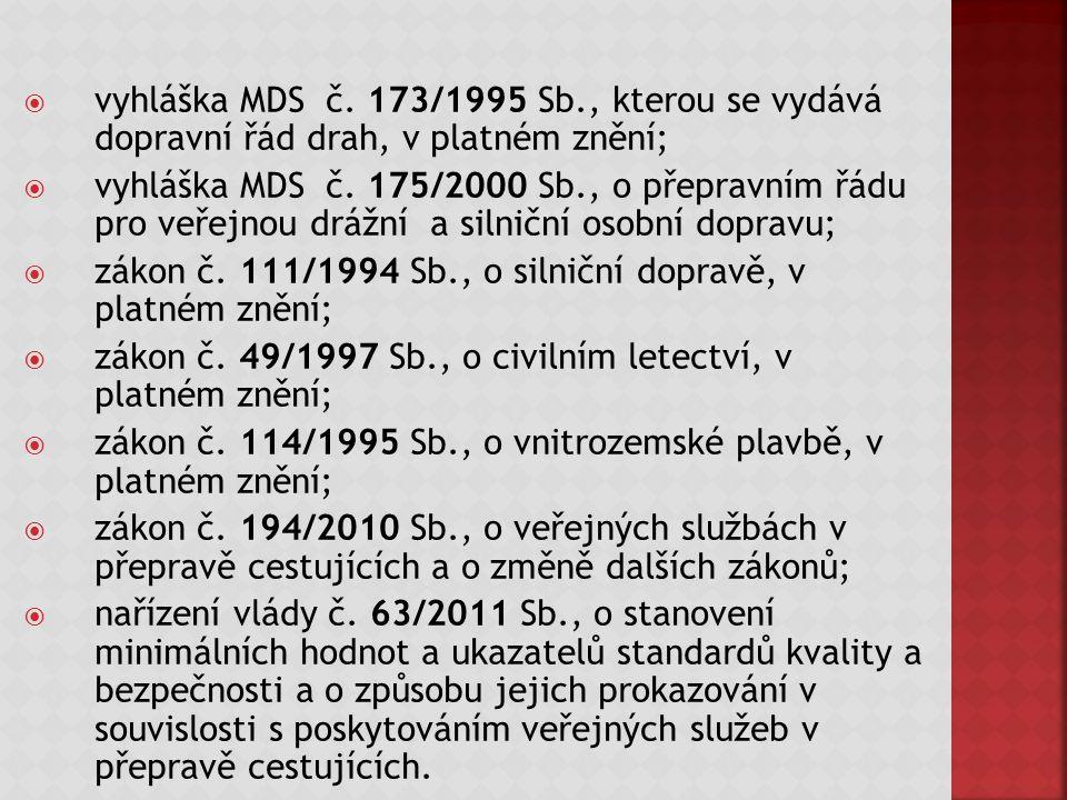  vyhláška MDS č.
