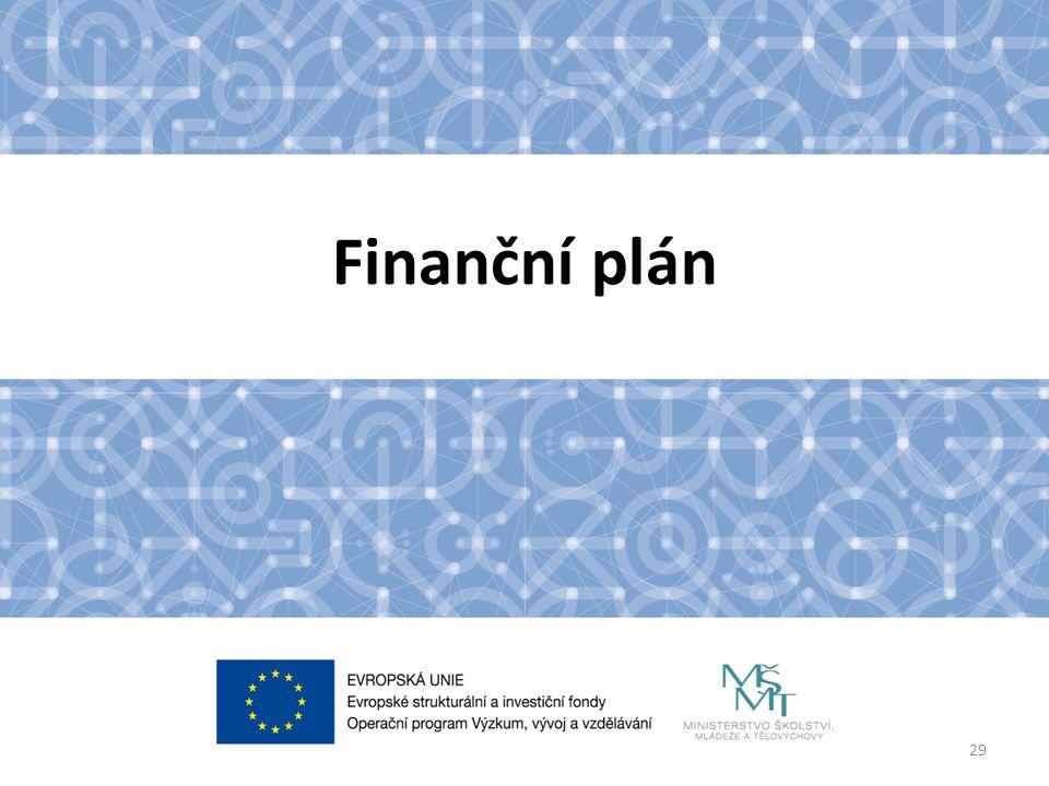 Finanční plán 29