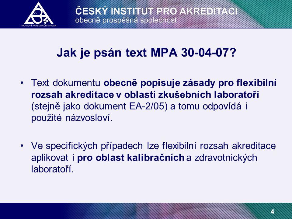 4 Jak je psán text MPA 30-04-07.