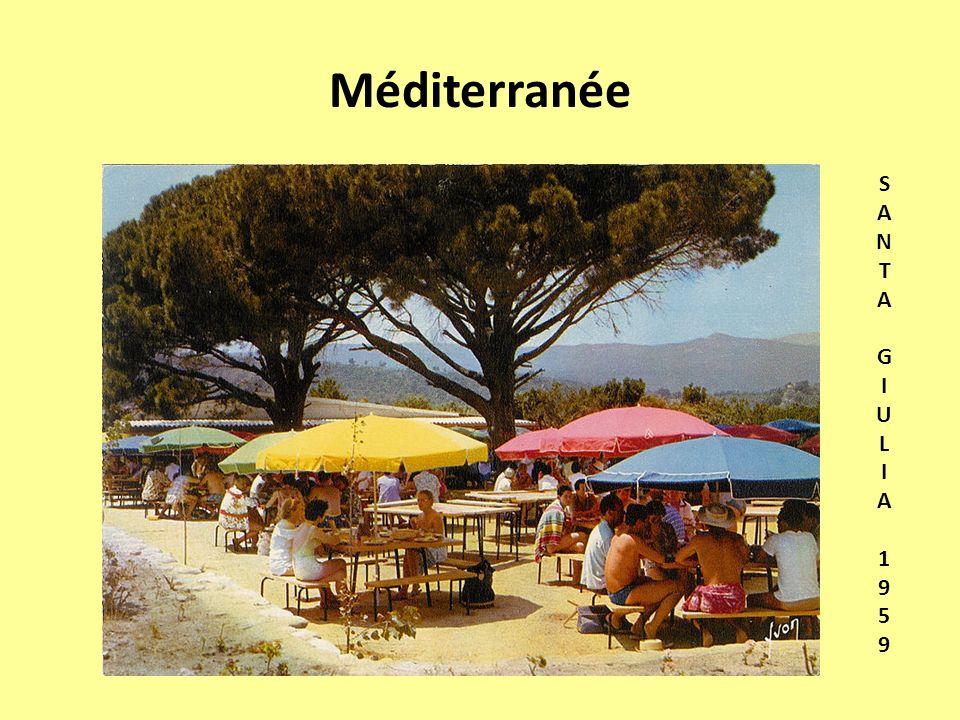 Méditerranée SANTA GIULIA1959SANTA GIULIA1959