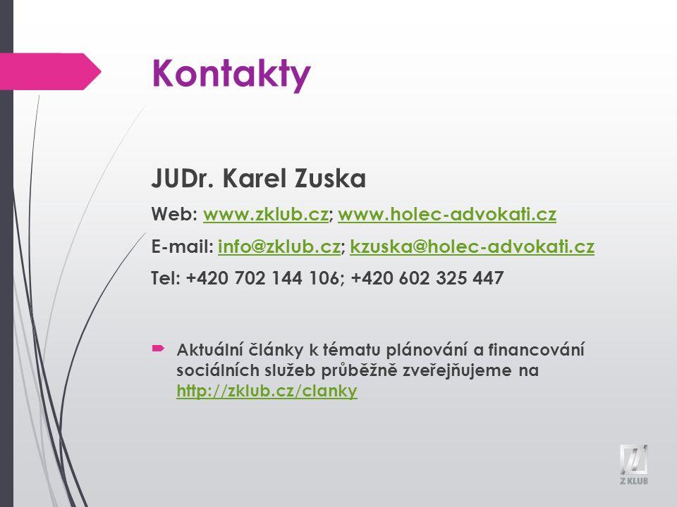 Kontakty JUDr.