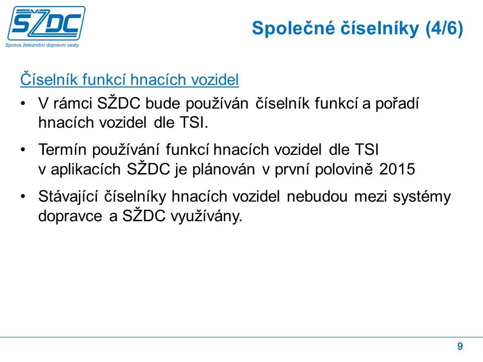 10 Číselník důvodu zpoždění Pro kódy zpoždění TSI předepisují číselník dle směrnice UIC 450-2 ve znění z roku 2009.