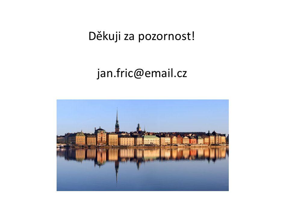 Děkuji za pozornost! jan.fric@email.cz