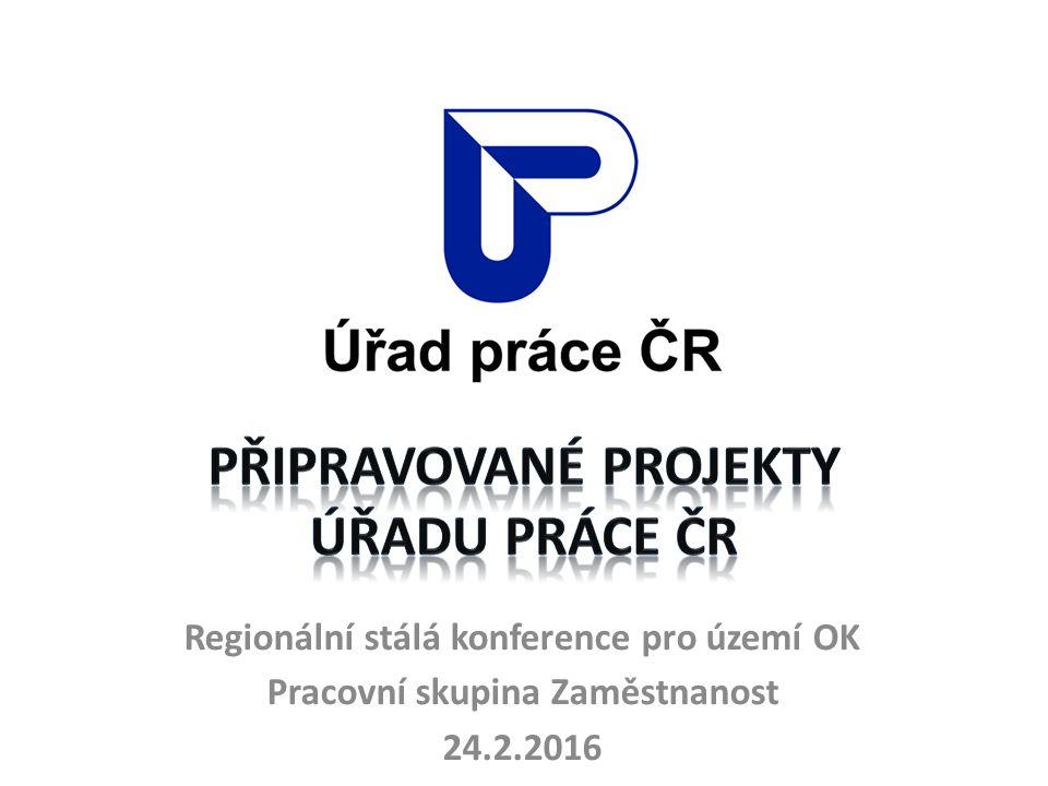 Regionální stálá konference pro území OK Pracovní skupina Zaměstnanost 24.2.2016