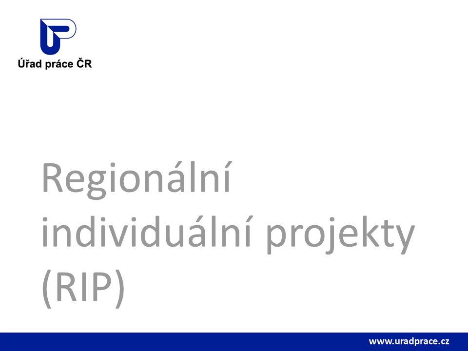 Regionální individuální projekty (RIP)
