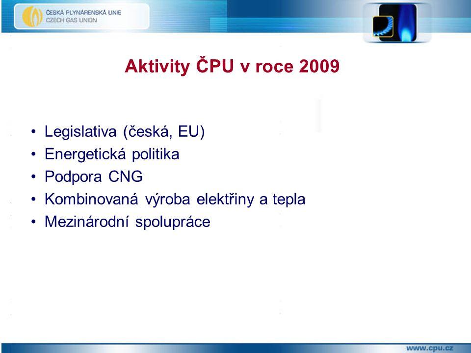 Novelizace Energetického zákona (zákon 158/2009 Sb.
