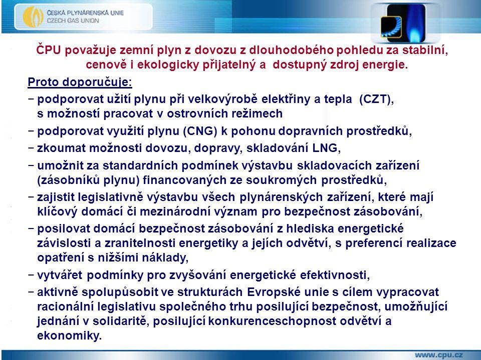Důvody pro podporu a rozvoj kogenerace ekonomické -maximální využití energetického obsahu paliva, osvědčená a dostupná technologie, malé zatížení elektrizační soustavy ekologické - nižší emise na jednotku energie, minimální tepelná zátěž okolí, bez devastace krajiny a produktů spalování, zpracování odpadů, bezpečnostní - možnost ostrovního provozu, rozšíření energetického mixu pro výrobu elektřiny v ČR, závazky státu - zvyšování energetické účinnosti, emise skleníkových plynů, znečištění částicemi prachu (PM 10, PM 2,5), odvětvové – perspektivní oblast dalšího využití zemního plynu.