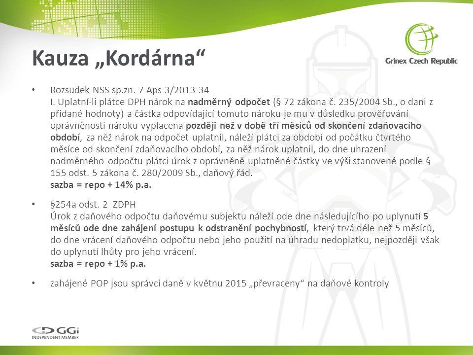 Rozsudek NSS sp.zn. 7 Aps 3/2013-34 I.