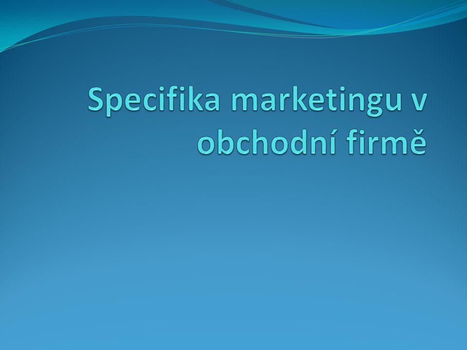 Obsah Marketingový mix Marketingový mix obchodníka Nákupní marketing