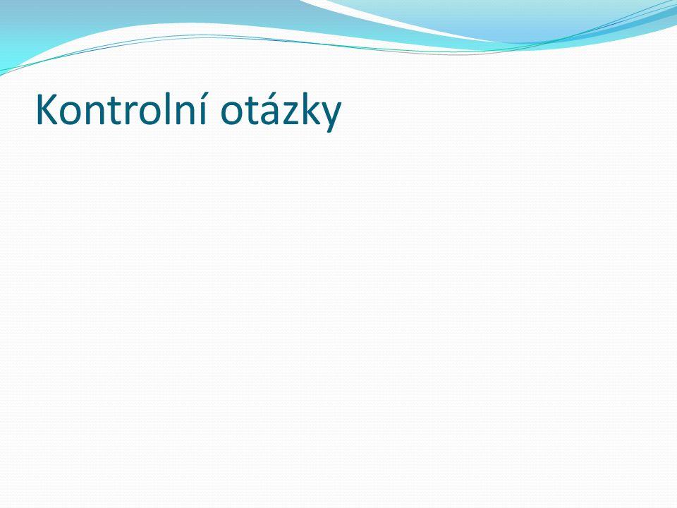 Použitá literatura Zamazalová, M. Marketing obchodní firmy