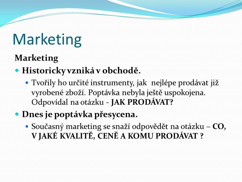 Vývojové fáze marketingu