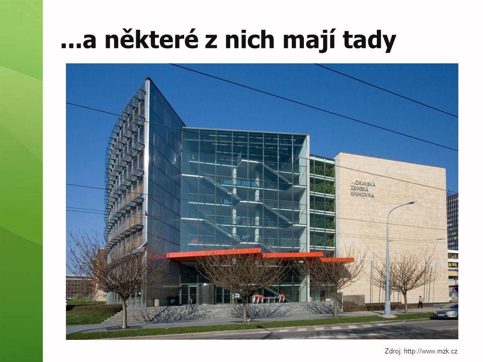 ...a některé z nich mají tady Zdroj: http://www.mzk.cz
