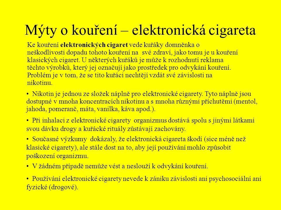 Správné odpovědi 6) O kolik zkrátí život každá vykouřená cigareta.