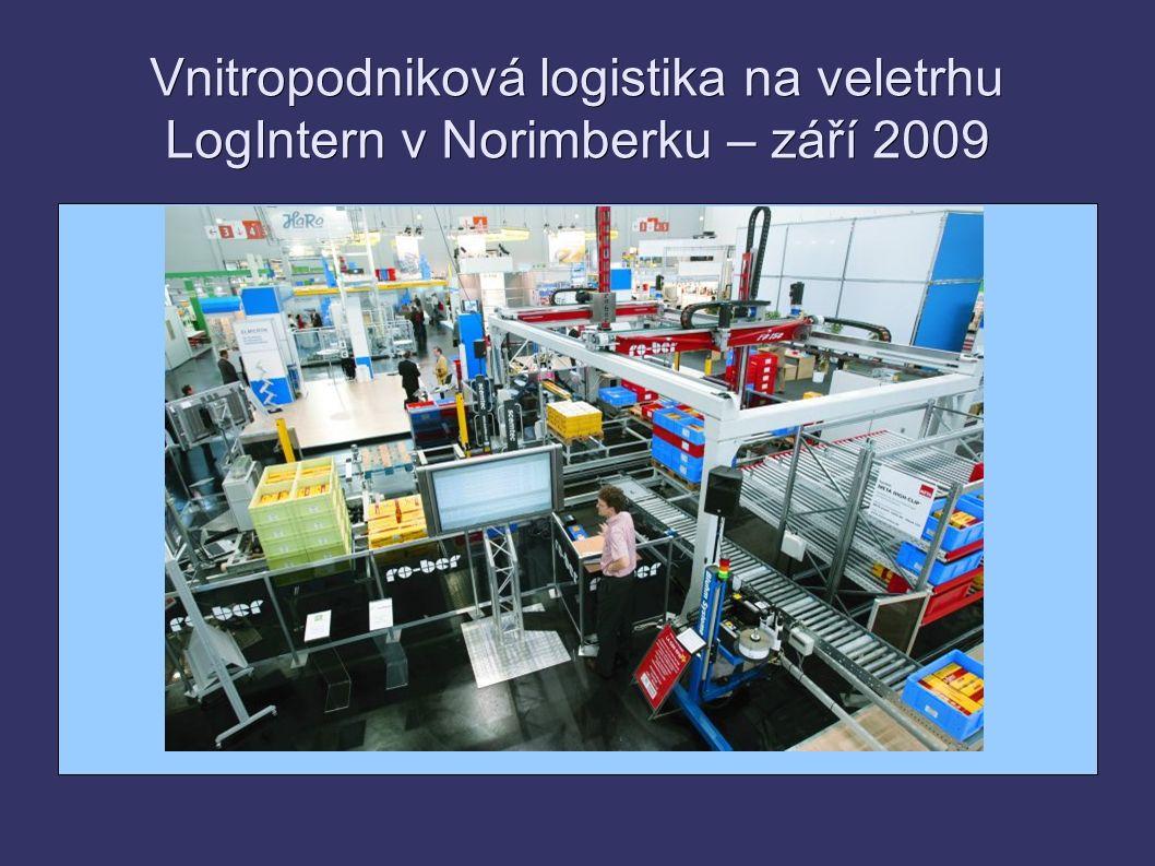Vnitropodniková logistika na veletrhu LogIntern v Norimberku – září 2009