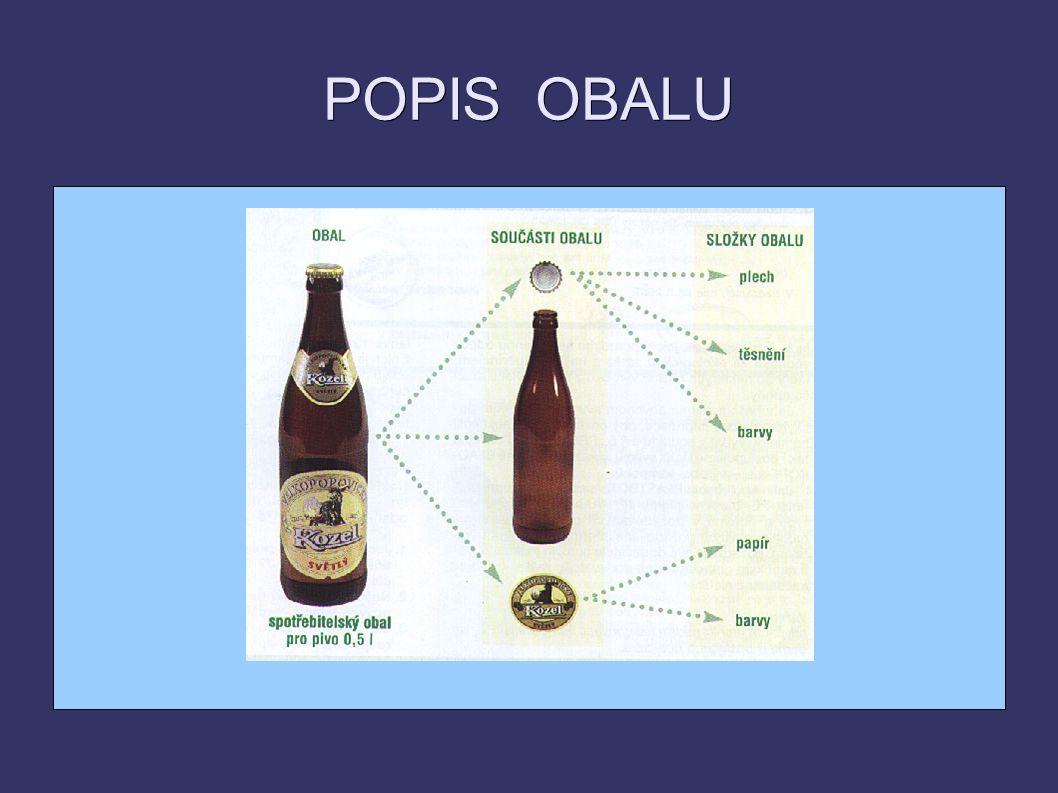 POPIS OBALU