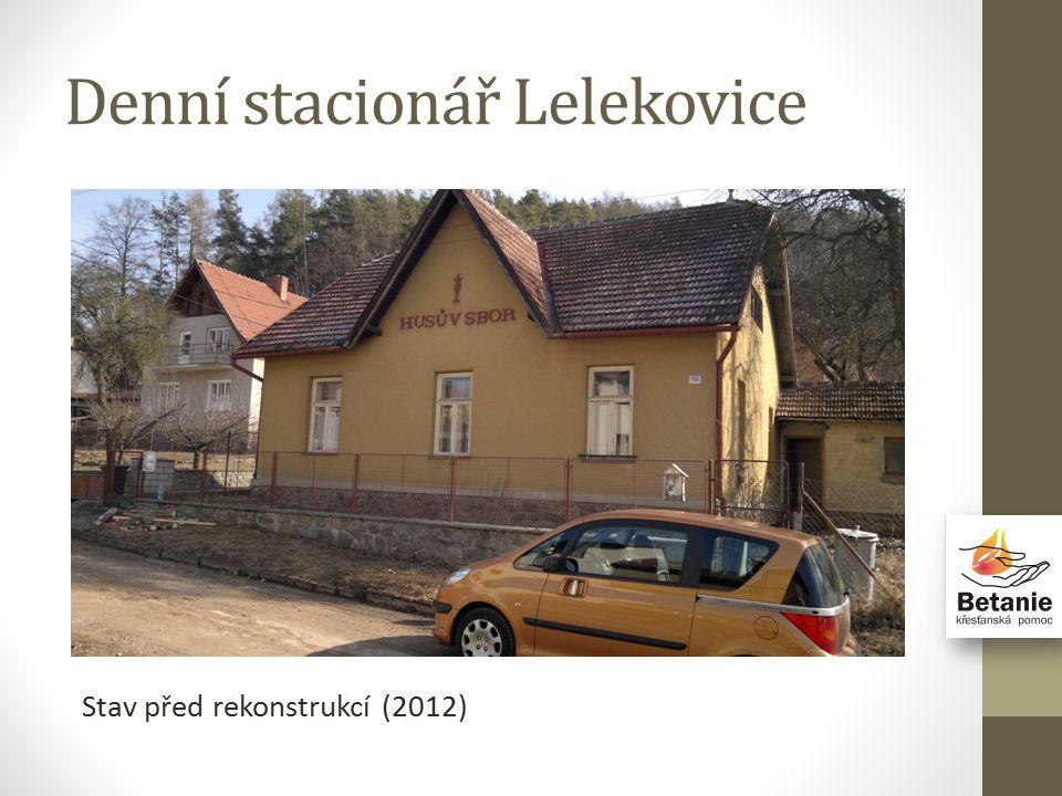 Denní stacionář Lelekovice Stav před rekonstrukcí (2012)
