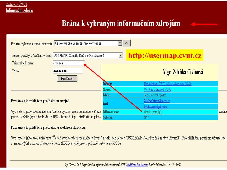http://usermap.cvut.cz