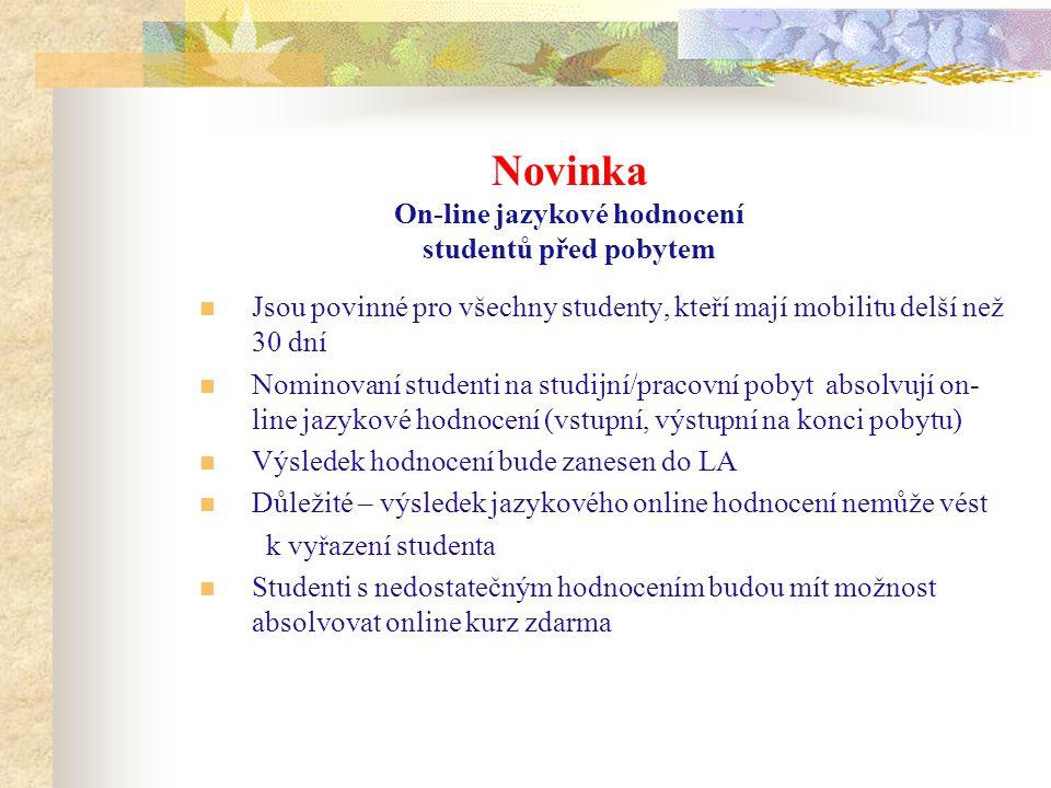 Nabídka jazykových kurzů pro vyjíždějící studenty ERASMUS+ Kurz portugalštiny 1 hodina 23.9.2015 (každou středu) Čas a místo konání: 15:45 – 17:15, učebna B8 (na budově FF na nábřeží)