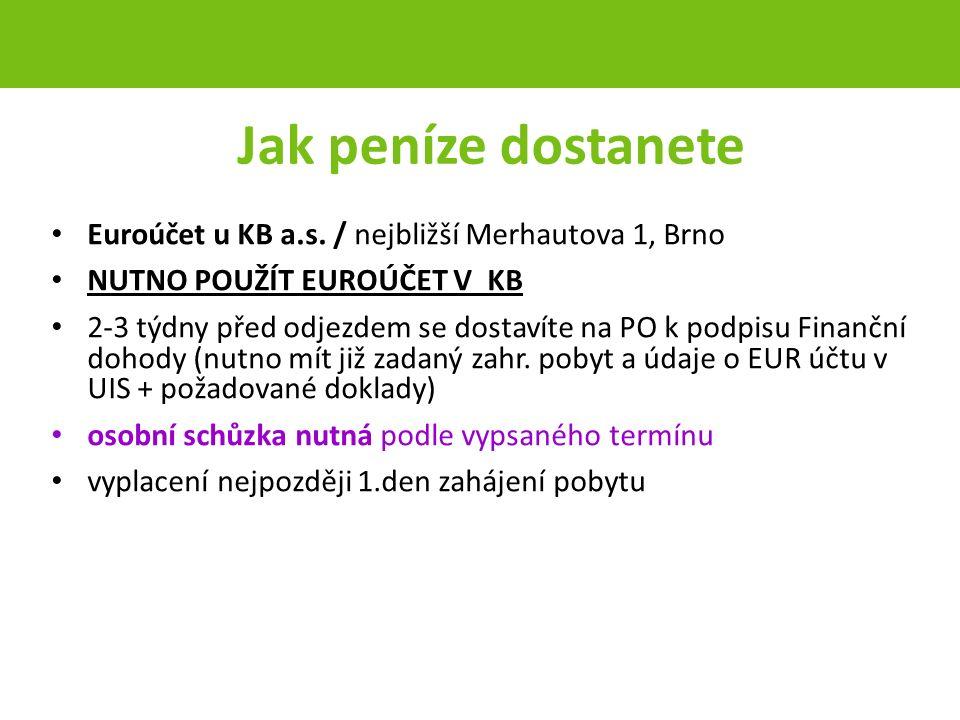 Jak peníze dostanete Euroúčet u KB a.s.