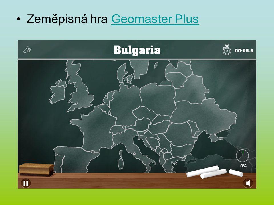 Zeměpisná hra Geomaster PlusGeomaster Plus