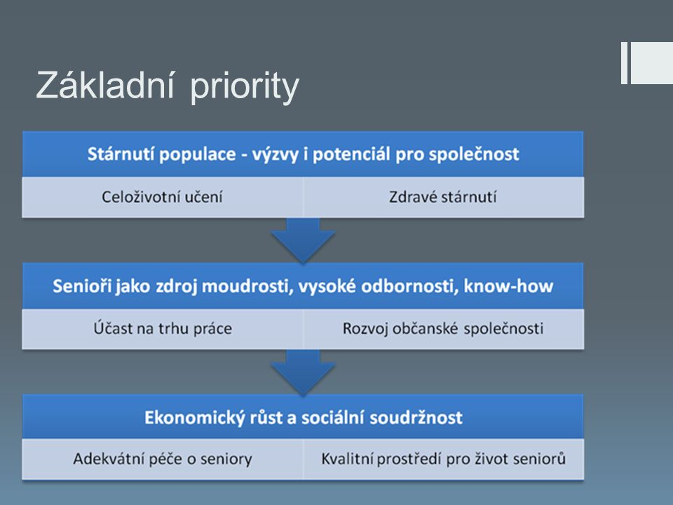 Základní priority