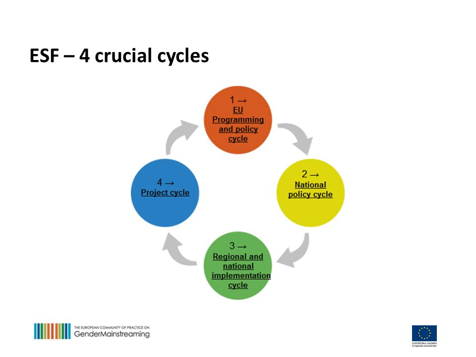 ESF – 4 crucial cycles