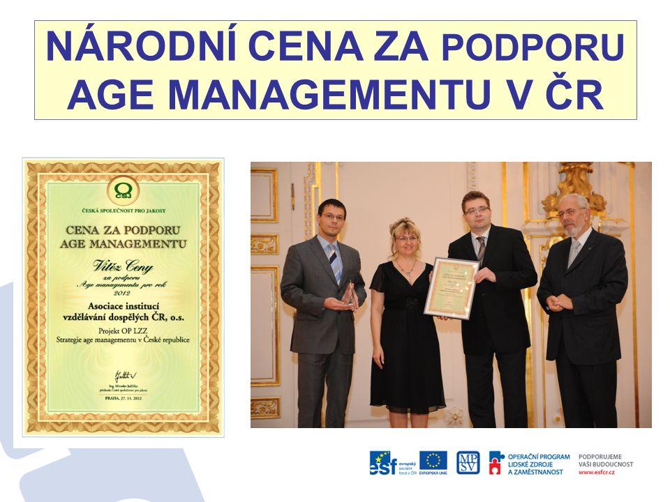 NÁRODNÍ CENA ZA PODPORU AGE MANAGEMENTU V ČR