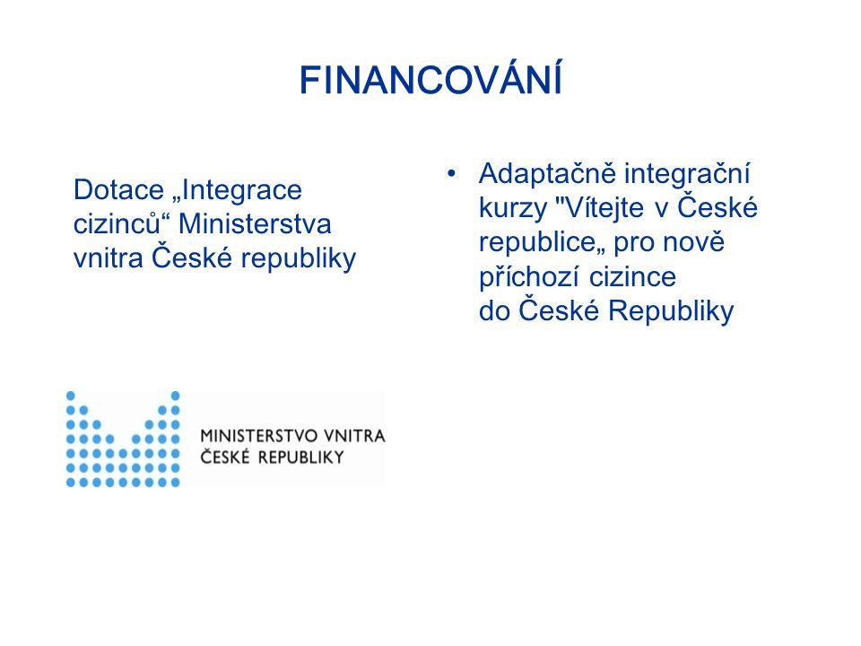 3 CÍLE KURZU Podpora integrace cizinců v České republice.