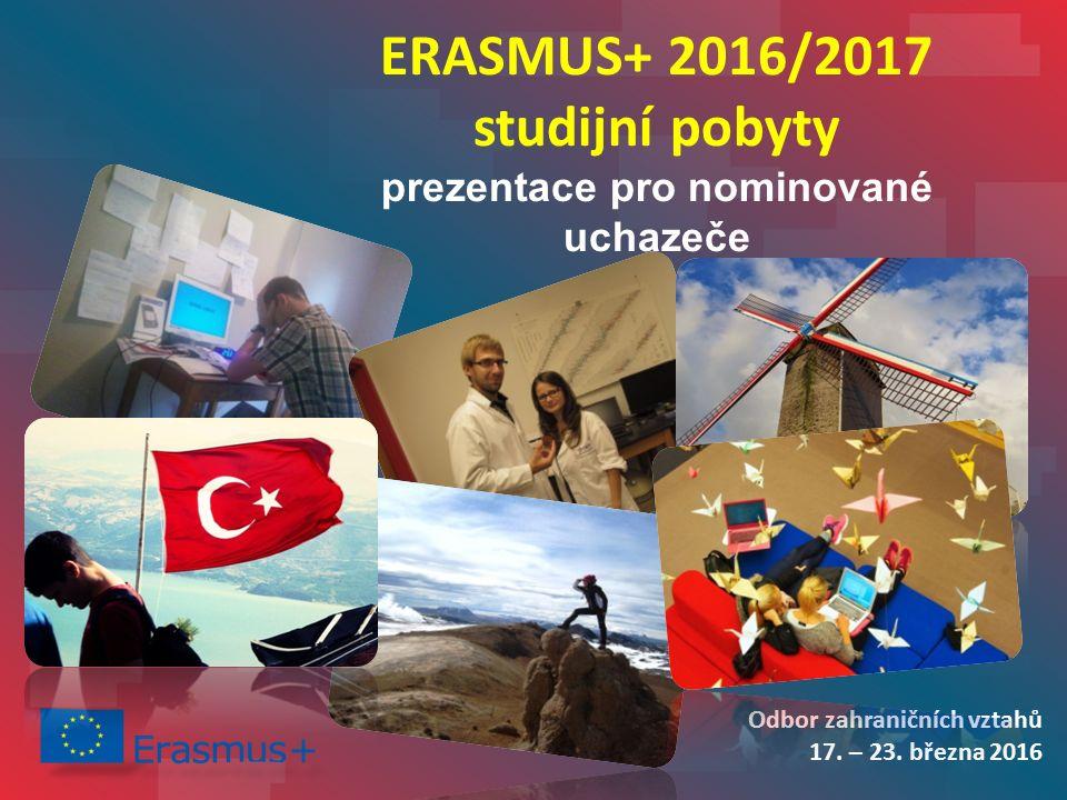 Odbor zahraničních vztahů 17. – 23.