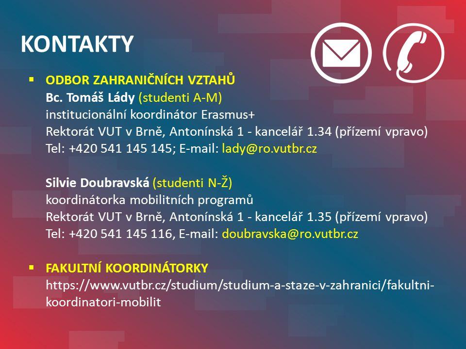 WEB OZV – studijní pobyty Erasmus+  Aktualizace k 31.5.2016  Najdete zde:  dokumenty ke stažení  kompletní postup  často kladené dotazy http://www.vutbr.cz/studium /studium-a-staze-v- zahranici/studijni-pobyty- studentu-erasmus-plus