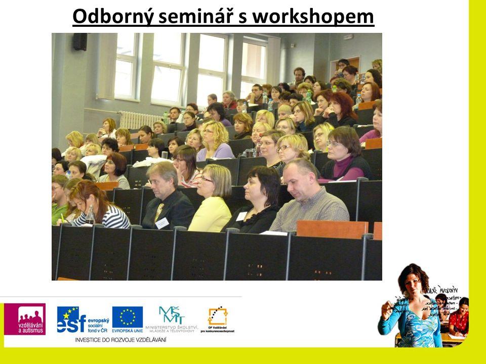 Odborný seminář s workshopem