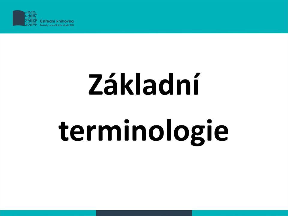 Citát doslovné převzetí cizího výroku odlišení od vlastního textu –uvozovky –změna stylu písma (řez, font) –samostatný odstavec více než 4 řádky (40 slov) odsazení (5pt) odkaz na zdroj