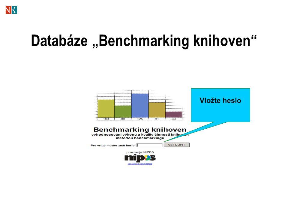 "Databáze ""Benchmarking knihoven"""
