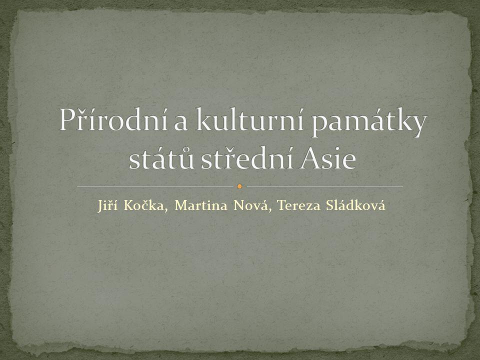 Jiří Kočka, Martina Nová, Tereza Sládková