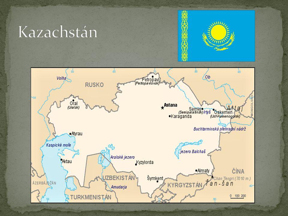 Astana (dříve Akmola, či Celinograd) Od roku 1997 hlavní město Kazachstánu 708 000 obyvatel (2010) Počet obyvatel se za posledních 10 let více než zdvojnásobil.