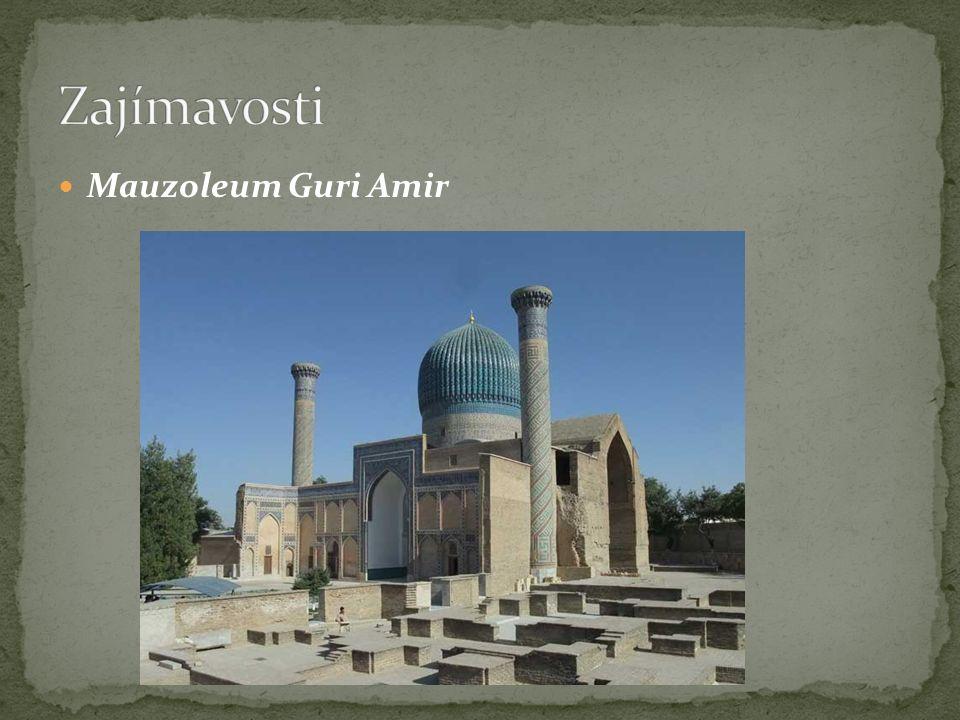 Mauzoleum Guri Amir